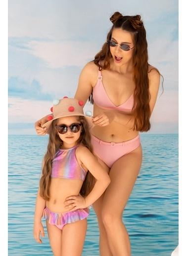 Katia & Bony Fırfır Detaylı Kız Çocuk Bikini Takımı - Mix Renkli